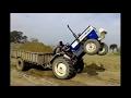 Swaraj 744 Ultimate Fails with Trolley