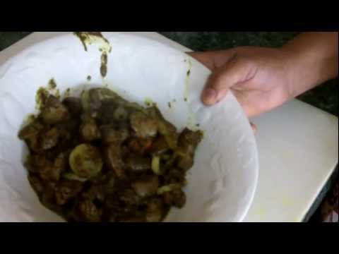 Caribbean Recipe: How to Make a Curry Chicken Liver – Guyanese Style
