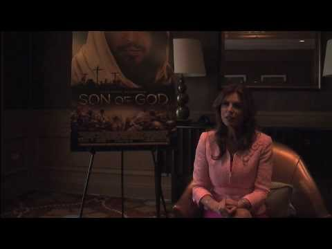 HFF sits down with Roma Downey to Discuss her new film Son of God!