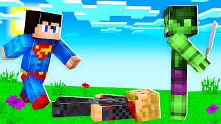 We Played Murder Mystery As Superheroes In Minecraft | JeromeASF