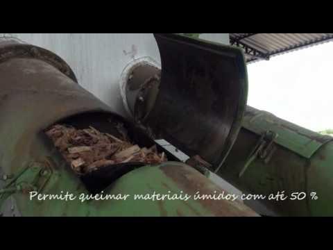 Queimador de Biomassa Lippel