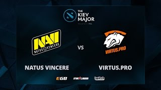 Na'Vi vs VP, Game 2 The Kiev Major CIS Main Qualifiers