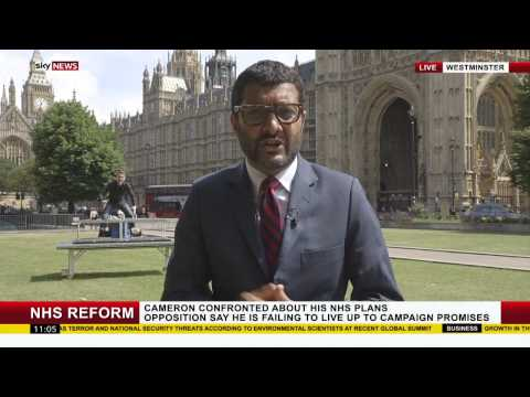 Magicians Young And Strange Hijack Sky News