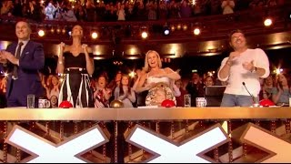Video Simon Pushes Golden Buzzer For The Most Difficult Song In The World! MP3, 3GP, MP4, WEBM, AVI, FLV Maret 2019