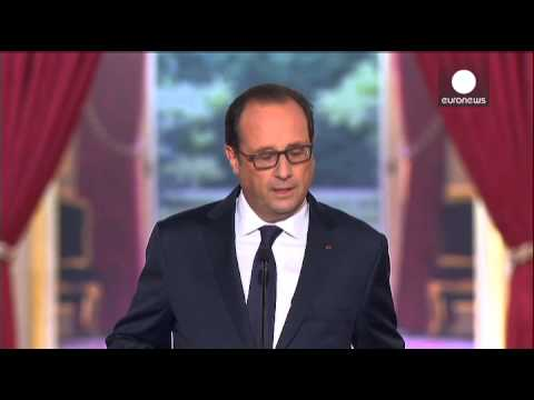 France - France has announced it will soon begin air strikes to support Iraqi and Kurdish forces in Iraq. French President Francois Hollande said surveillance aircraf...
