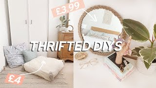 Thrifted Room Decor DIYs on a budget | Home Decor Ideas 2019