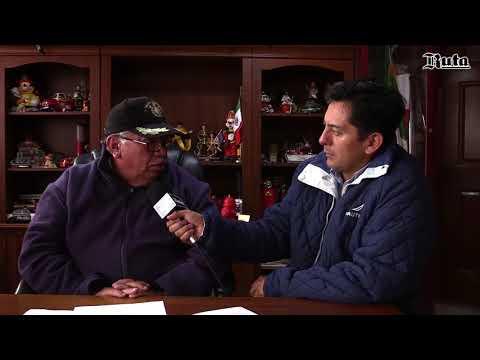 Entrevista con el CMDTE. Jesus Garc�a �vila Director de Bomberos y Protecci�n Civil de Tulancingo
