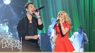 "Watch Karmin Perform ""I Want It All"" on The Queen Latifah Show"