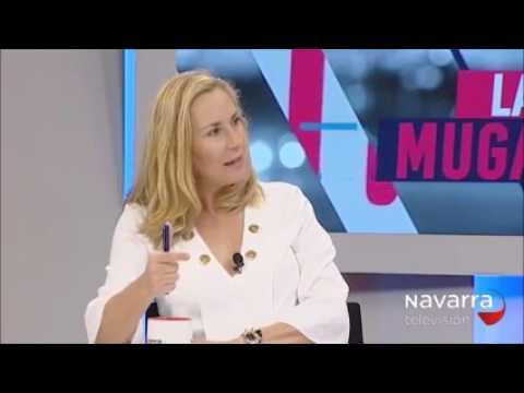 Ana Beltrán reivindica la bandera de Navarra y ani...