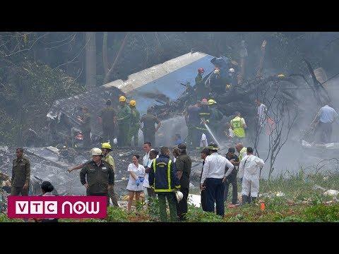 Cháy máy bay chở khách ở Cuba, hơn 100 người bị chết | VTC1 - Thời lượng: 49 giây.