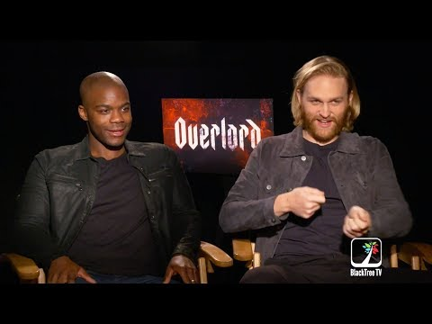 OVERLORD: Stars Jovan Adepo and Wyatt Russell Talk Real-Life Terror on Set