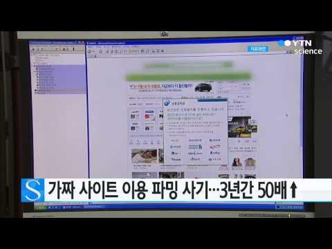 가짜 사이트 이용 파밍 사기…3년간 50배↑ / YTN 사이언스