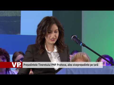Președintele Tineretului PMP Prahova, ales vicepreședinte pe țară