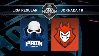 G2 Vodafone vs Pain Gaming - #LoLHonor18 - Mapa 2 - Jornada 18 - T11