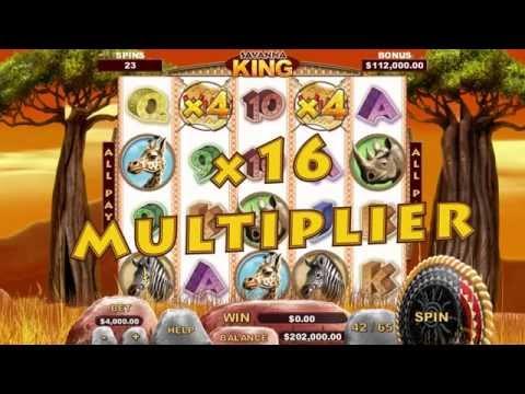 Video Slot Game - Savanna King Game Trailer