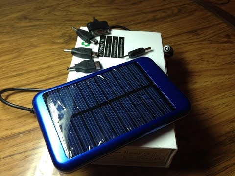 Зарядка на солнечных батареях на алиэкспресс