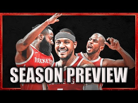 Houston Rockets 2018-19 Season Preview (30 Teams in 30 Days)