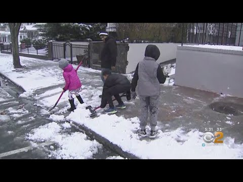Snow Storm Creating Some Dangerous Conditions In Westchester County