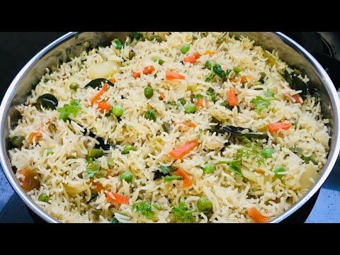 Vegetable Biryani | Restaurent Style Vegetable Biryani | Lunch Box Recipe | Rice Variety Veg Biryani
