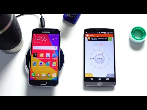 Galaxy S6 Wireless Charging Test (Deutsch)