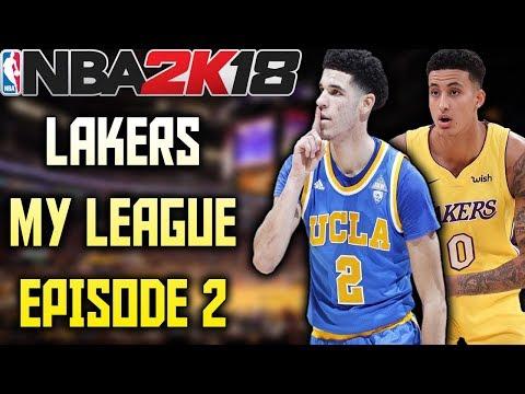 TRADE DEADLINE! - Lakers My League Episode 2 - NBA 2K18