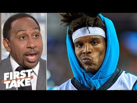 Video: Stephen A. has low expectations for Cam Newton and the Panthers   First Take