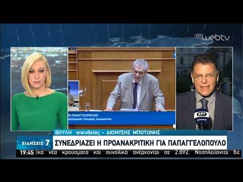 Συνεδριάζει η προανακριτική για Παπαγγελόπουλο   26/05/2020   ΕΡΤ