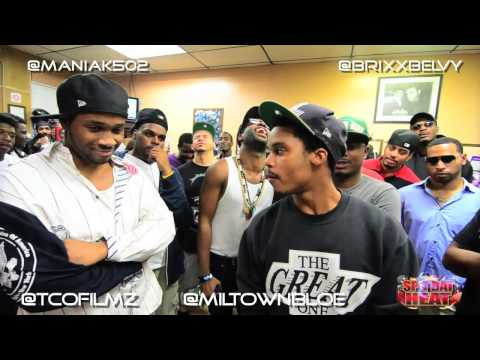 "Spit Dat Heat Presents: ""Deadly War Event"" Brixx Belvedere vs. Maniak"