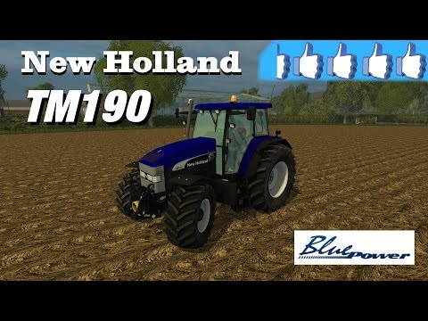 NH TM 190 BLUE POWER v1.0
