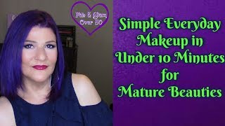 Simple Everyday Makeup in Under 10 Minutes for Mature Beauties! #quickandeasymakeup #sexyat60Hi, Everyone!Today I'm sharing a very quick and easy summer look that we can do in under 10 minutes. Let me know what products you use to create your easy and quick summer looks!xoxo💋Marlene💞Visit the fabulous ladies on YouTube:http://ohcarolshow.blogspot.com/💞💞How I save money:eBates: https://www.ebates.com/r/THOMPS3547?eeid=28187 (we'll both receive a gift card for signing up)DiscountCodes: I do not receive any monetary compensation if you use my codes. This is just a savings for you.💜SqHair Bands: MARLENE OR MARLENE6 (both codes will work and good until September 30, 2017; $3.99 off a $20 or more order) https://sqhairbands.com/💜American Culture Pure Blends Shampoo & Conditioner (Use my code MARTHOM25 to save 25%)http://bit.ly/2oW5NXZ▶💄For New Creators:Sub4Sub: Is Sub For Sub Good or Bad?http://bit.ly/2paWckN💜If you love art, stop by my brother's (William Braemer) art gallery in Miami! This video includes a bit of footage from our beautiful Miami!Art Fusion Galleries: ( Luminescent Infusion Opening Night Event, April 26) http://bit.ly/2qeumBu📧Business Inquiries: fabglam50@gmail.com📧📧📧📧📧📧📧📧📧📧📧📧📧📧📧📧📧📧📧📧📧📧📧📧Send Me A Postcard Fab and Glam Over 50125 E Merritt Island CausewaySte 107   #270Merritt Island, Fl 32952💜💜FTC: I receive a few pennies when you click on the magiclinks below. There will NO additional charges to your purchase(s).💜What I'm Wearing:😍Top: Macy's INC💜Products Mentioned: 💜Dr. Jart+ Premium Beauty Balm SPF 45 in Medium Deephttp://go.magik.ly/ml/517g/💜Bare Minerals BBComplexion Rescue Tinted Hydrating Gel Cream Broad Spectrum SPF 30 in Spice http://go.magik.ly/ml/4y17/💜It Cosmetics Your Skin But Better CC+ Bronzerhttp://go.magik.ly/ml/3vrm/💜BECCA X Chrissy Teigen Glow Face Palette: http://go.magik.ly/ml/540h/💜Stila Huge Extreme Lash Mascara http://go.magik.ly/ml/4z6b/💜BECCA Aqua Luminous Perfecting Concealer: http://go.magik.ly/ml/3cyj/💜Rimmel Moisture Renew Lip