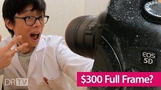 Video Full Frame DSLR for Less than $300! MP3, 3GP, MP4, WEBM, AVI, FLV Juli 2018