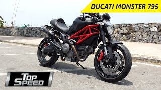 7. Ducati Monster 795  | Review - Top Speed - Wheelspin