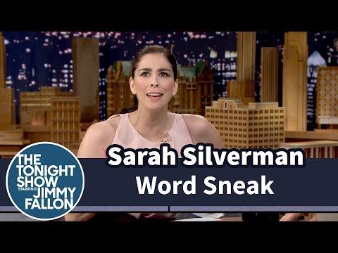 Word Sneak with Sarah Silverman
