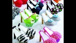 How To Make High Heels Cupcakes (tutorial)