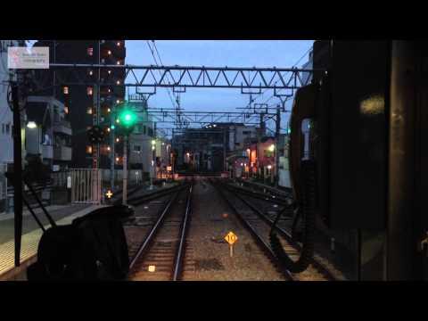 Seibu Ikebukuro local from Nerima to Ikebukuro -- c'etait un rendez-vous? (видео)