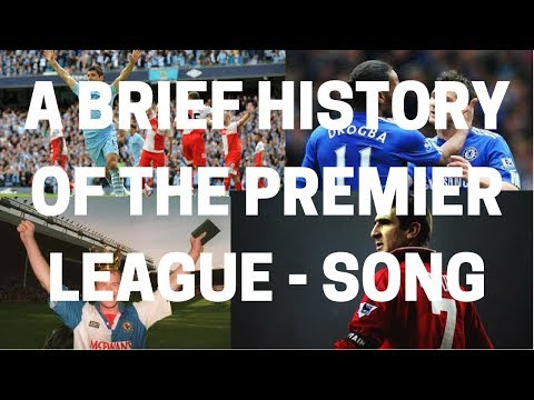 'History Of The Premier League' - Musical Tribute!