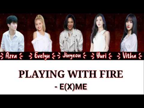 [Color Coded] EXME - Playing With Fireᵇˡᵃᶜᵏᵖⁱⁿᵏ