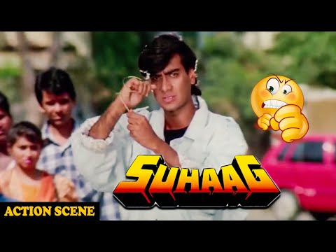 Video Ajay Devgan In Action Scene For Save Aruna Irani In Suhaag Action Movie download in MP3, 3GP, MP4, WEBM, AVI, FLV January 2017