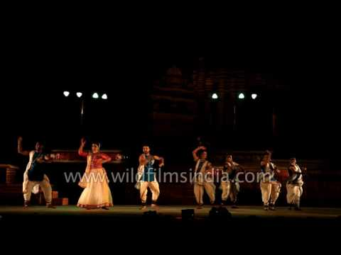 Yasmin Singh performs Kathak recital: Khajuraho Dance Festival 2017