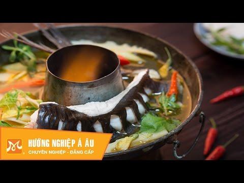 Đậm đà cách nấu lẩu cá lăng măng chua đúng vị