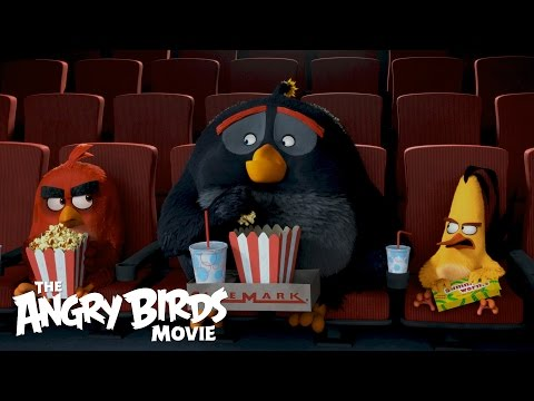 Angry Birds (Viral Video 'The Flock Visits Cinemark')