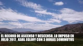 El Chimborazo es la mayor elevación del Ecuador, es un volcán activo y es también un nevado. Medido, por cientificos franceses...