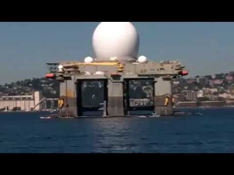 US Navy Deploying HAARP Tesla Weapon Platform SBX-1 to Hit North Korea with Earthquakes