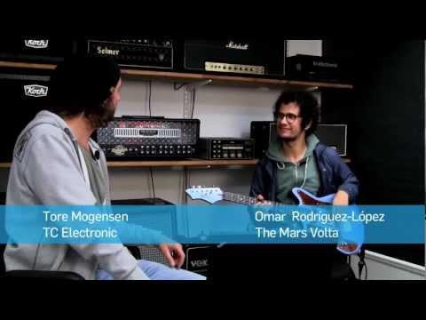 "Omar  Rodríguez-López (Mars Volta) and Tore Mogensen from TC Electronic creates ""David, the Dog!"" TonePrint for Flashback Delay and Flashback X4."
