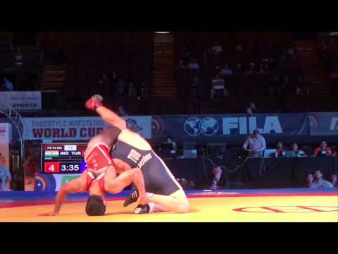 74 KG Parveen Rana India vs Murat Erturk Turkey