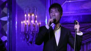 Donnie Chan performs 追