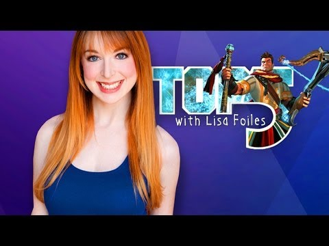 TOP 5 TOWER DEFENSE GAMES (Top 5 with Lisa Foiles)