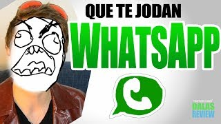 Que te jodan, WhatsApp c: | DALAS REVIEW
