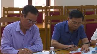 Hội nghị BTV Huyện ủy tham gia ý kiến vào báo cáo kết quả 2,5 năm thực hiện Nghị quyết Đại hội Đảng bộ huyện khóa XXIV, nhiệm kỳ 2015-2020