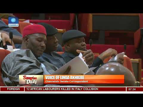 Channels TV's Linda Akhigbe Gives Update As DSS Blockades NASS |Sunrise Daily|